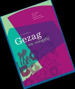 """Weergave voorpagina brochure """"Gezag en voogdij"""" uit 2010."""